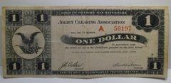 1933 $1 Joliet Clearing Association