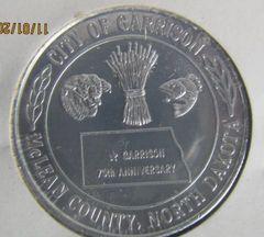 Garrison ND 1980 75th Anniversary Dollar Gem Condition