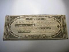1836 $1 Bank of Windsor