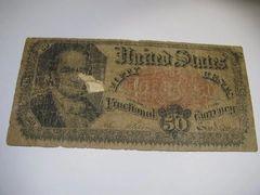 1874-5 50c FR1351 VG details