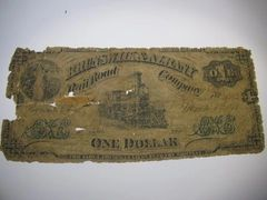 1877 $1 Brunswick & Albany $$ Co