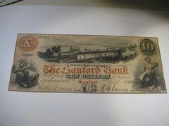1860 $10 Sanford Bank