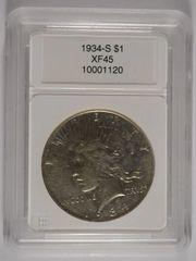 1934S $1 XF45 better date