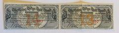 1869 Blue Ridge Railroad Company $35 Bond Coupons Scrip 2 Pcs. South Carolina