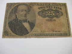 1874-5 25c Fr1308 VG