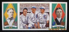 Cubs World Series Heroes...Tinker, Evers, Chance. Sold