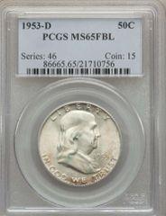 1953 D PCGS MS65 FBL scarce in grade