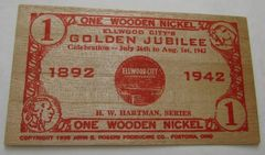 1942 Ellwood City, PA Golden Jubilee 1WN Red HW Hartman Series