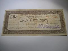 1933 50c Clay County CofC