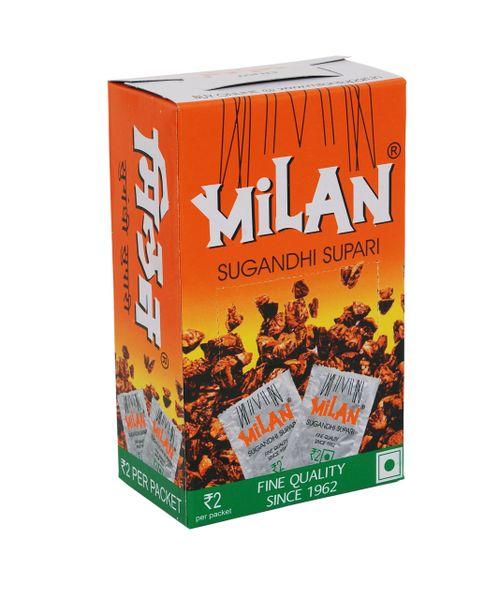 Milan Sugandhi Supari - 1 box of 50 sachets
