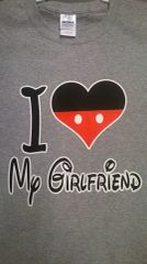 i ♥ Love my girlfriend