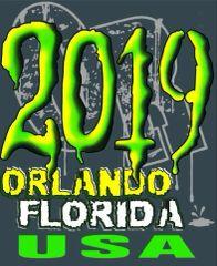 Adult 2019 Orlando FL T-shirt