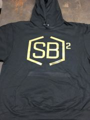 Gold and Black Hoodies