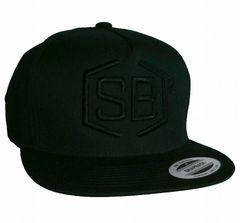 Black on Black Snapback