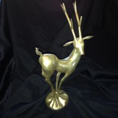 Far East Chinese Silver Made Figurine of a Deer