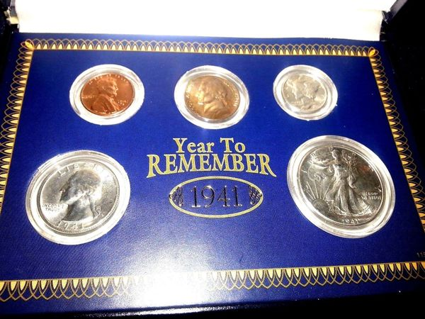 A Year To Remember The Uncirculated Coins Of 1941