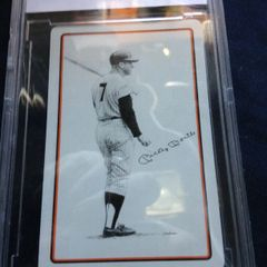 Babe Ruth and Mickey Mantle Playing Cards in Mint Condition