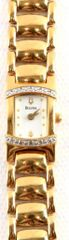 LADIES BULOVA WATCH 98674 QUARTZ WITH DIAMONDS