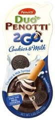 18 count Penotti Duo Penotti 2GO Cookies & Milk and Breadsticks