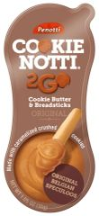 18 count Penotti Cookie Notti 2GO Cookie Butter and Breadsticks