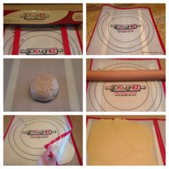 The DoughEZ® Rolling System with 6 Guide Sticks