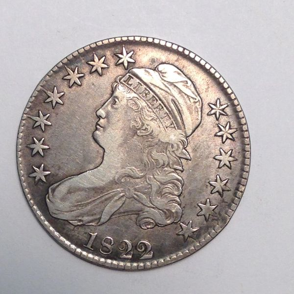 1822/1 Capped Bust Half Dol. VF30