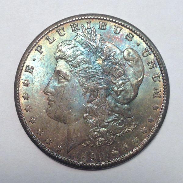 1899-O Morgan Silver Dollar MS63