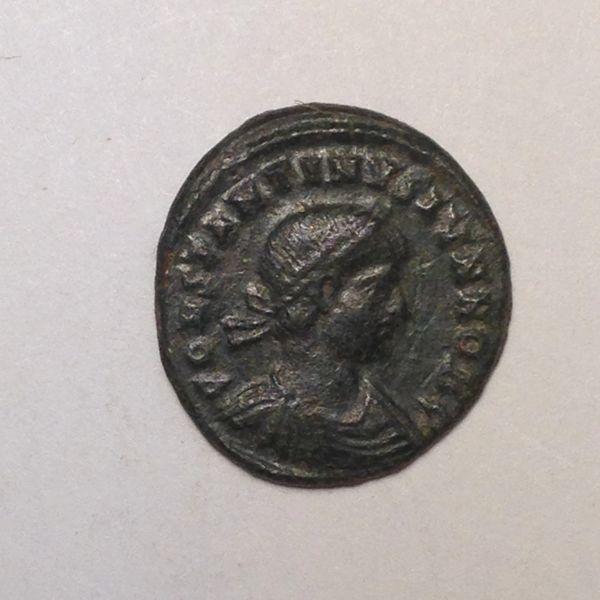 Constatine II AE3 AD 317-337 Laureate & cuirassed