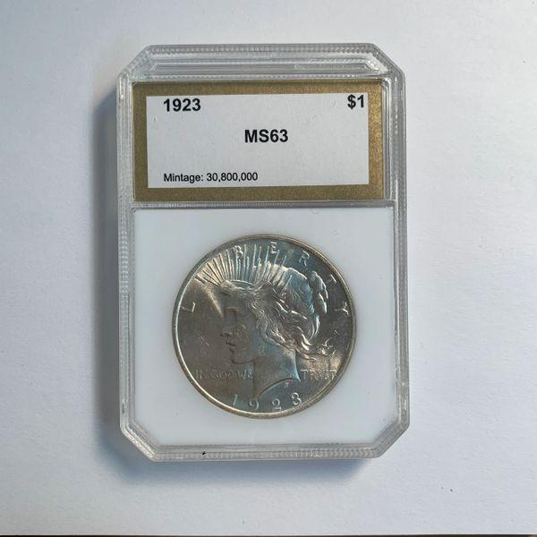 1923 Peace Silver Dollar MS63