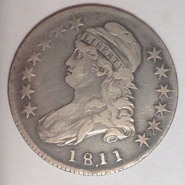 1811.10 Capped Bust Half Dol. VF