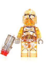 Star Wars - Clear - Genesis Clone Trooper