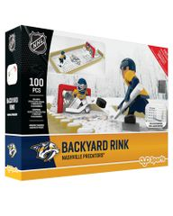 Oyo Sportstoys Nashville Predators Backyard Rink Set