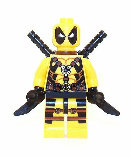 Superhero - Deadpool - Yellow
