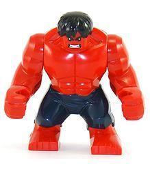 """Superhero 3.5"""" - Hulk - Red"""