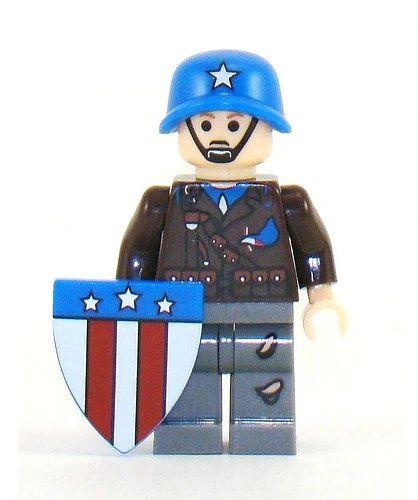 Superhero - Captain America WW2 Army Suit