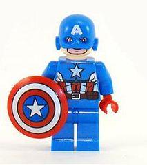 Superhero - Captain America - Comic Book