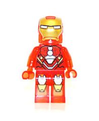 Superhero - Iron Man - Clear