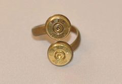 Winchester 40 Cal. Double Bullet Ring Custom Made