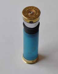 Fiocchi Italy 12 Gauge Shotgun Shell Bullet Bottle Stopper Wine Bottle Stopper With Shotgun Shell Stand Custom Made in the USA