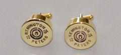 Vintage Remington 12 Gauge Shotgun Shell Bullet Cufflinks Custom Made in the USA
