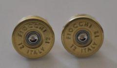 Fiocchi Italy 12 Gauge Shotgun Shell Bullet Cufflinks Custom Made in the USA