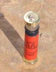 Vintage Winchester AA 12 Gauge Shotgun Shell Bullet Bottle Stopper Wine Bottle Stopper With Shotgun Shell Stand Custom Made in the USA
