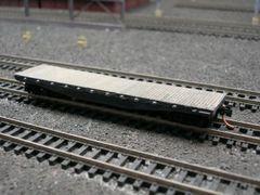 N Scale Idler Flat Car