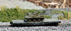 M3 Lee Meduim Tank on US Army Transportation Corp Flat Car