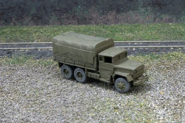 US Army M35 2 1/2 Ton 6x6 Cargo Truck, OD Green