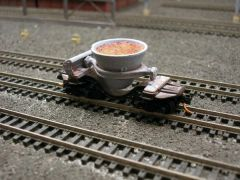 N Scale Single Thimble Slag Car