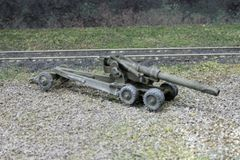 US Army M1 155mm Towed Artillery (Long Tom)