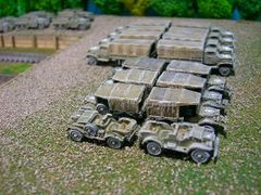 US Army 3/4 Ton Staff Car, Dodge WC56