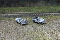 US Navy 1/4 Ton Truck (Jeep), package of 2