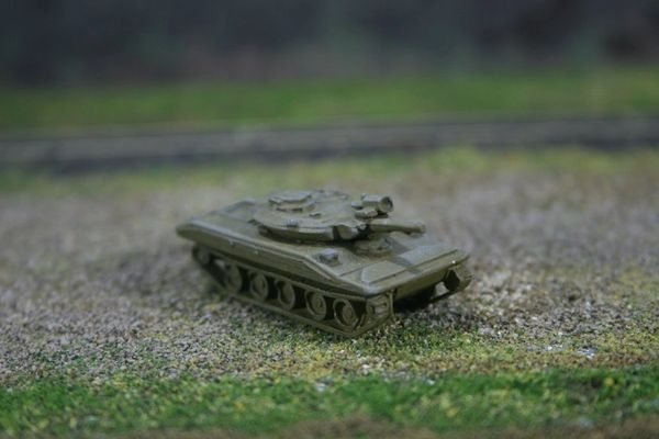 US Army M551 Sheridan Armored Reconaissance/Airborne Assault Vehicle, OD Green
